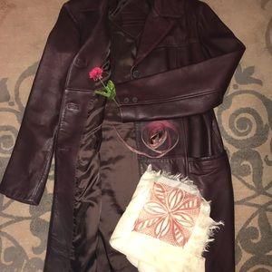 Preston and York Leather Jacket